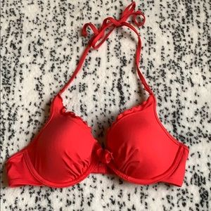 Red Bathing suit top
